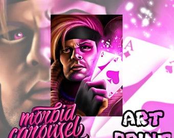 Gambit - Marvel X-Men Canvas Art Print