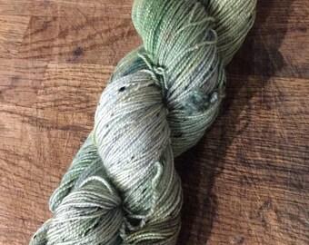 SALE***Seafoam - sw merino donegal sock yarn