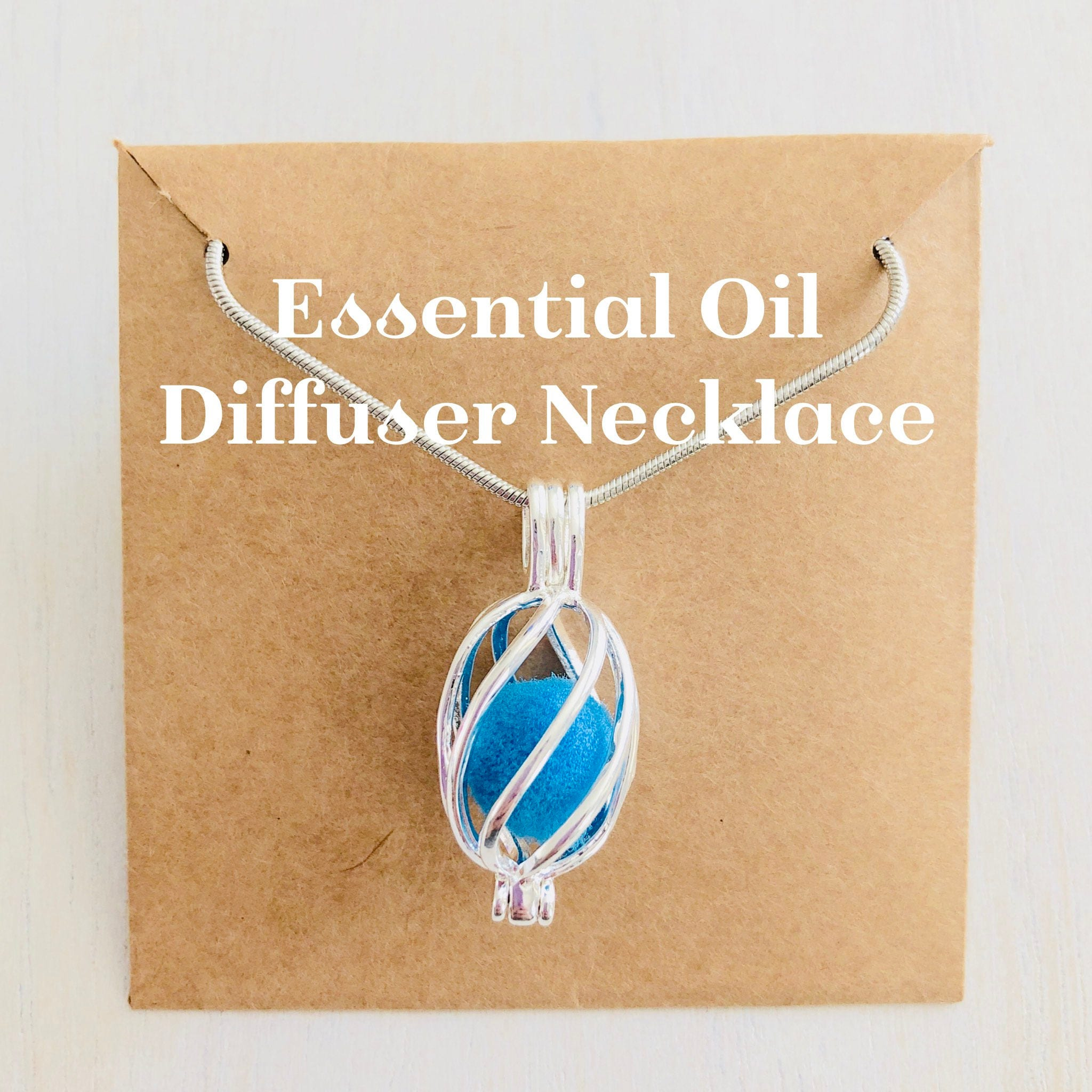 necklace terracotta pendant shop essential izzybell diffuser oil owl