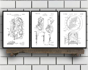 skydiving Patents Set of 3 Prints, skydiving Prints, skydiving Posters, skydiving Blueprints, skydiving Art, skydiving