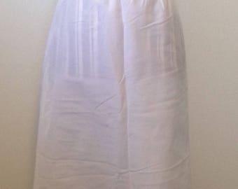 Vintage Wonder Maid White Slip