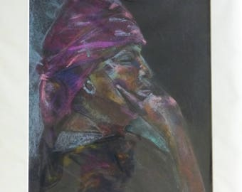 ART SALE: Pastel Drawing of 'Pearl'