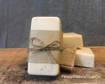 Ginger & Patchouli Goats Milk Soap