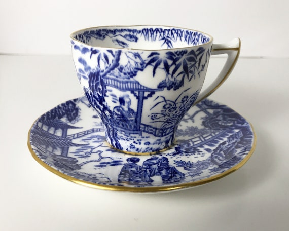 Vintage Royal Crown Derby Mikado Demitasse