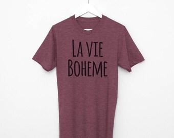 Rent The Musical Shirt, La Vie Boheme, Broadway Show, Gift for Her, Broadway Gift, Broadway Show Tee, Lyrics