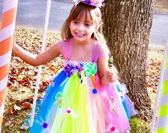 Sweet Shoppe Tutu Dress / Candy Shoppe Tutu Dress / Candy Land Tutu Dress