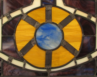 Transformers Autobot Matrix Leaded Stained Glass Panel