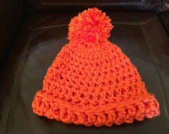 Orange Adult Hat