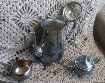 Vintage 60s William ROGERS SILVERPLATE SET