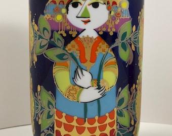Vintage Mid Century Modern Rosenthal Porcelain Bjorn Wiinblad 1001 Nights