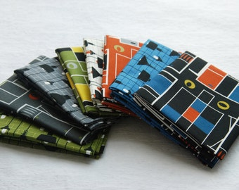 """Fat Quarter Bundles  In the room and Lamps in """"Loft Life Collection"""" by Hoodie Crescent for Stof Fabrics"""