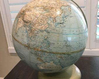 World Globe Topical randal mcnally