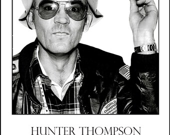 Limited Edition Hunter Thompson Poster