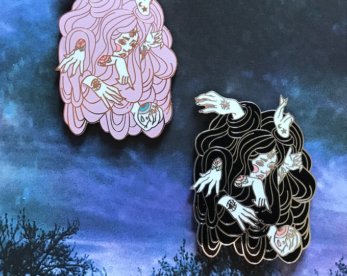 Enchanted Plans Absolute Ama Collab Hard Enamel Pin