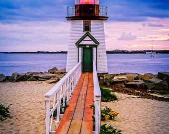 Brant Point Lighthouse - Fine Art Photography - William Britten