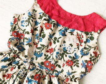 Lovely Butterfly and Floral Sundress