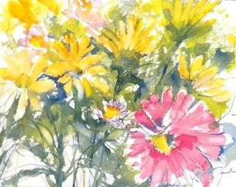 Fresh Pick No.216, 11x15, original watercolor