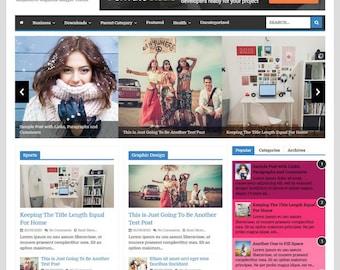 PowerMag Blogger Template