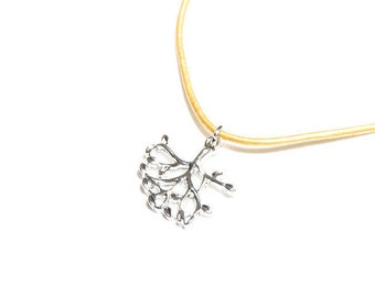 Belle Necklace Twig Branch pendant in silver from Beauty and the Beast 2017 silver tree necklace Belle twig costume accessory