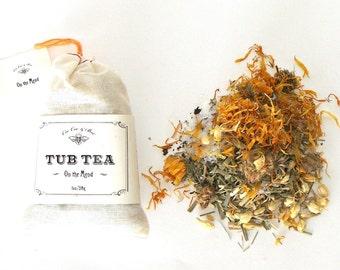 On the Mend, healing herbal bath salt - bathtub tea soak