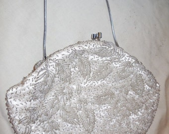 Hand Beaded Evening Bag by Stylecraft of Miami