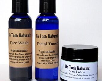 No Tosh Naturals Natural Acne Set