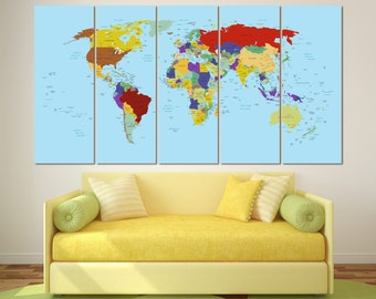 Executive world map etsy large push pin map canvas world map push pin personalized executive world travel map with pins travel map colorful pin world map canvas gumiabroncs Images