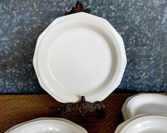 6 3/4\  Pfaltzgraff Heritage Ironstone Plates 4 Dessert/Bread Plates & Pfaltzgraff heritage | Etsy