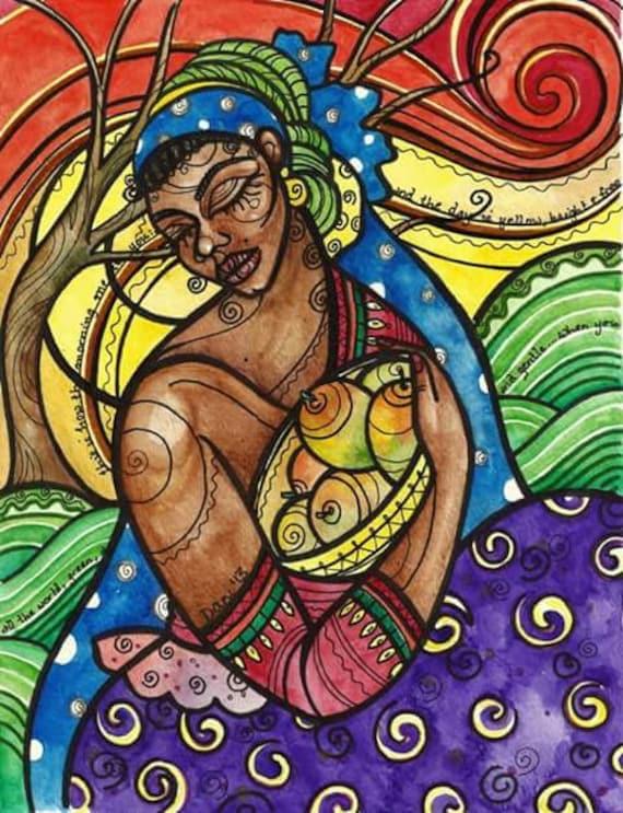 Fine Art Print, Mango Season,