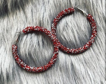 Glamorous earrings