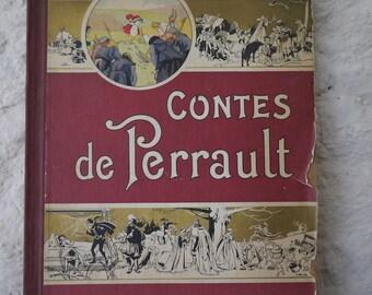 Old book tales of Perrault