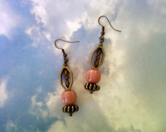 Dusty Rose Earrings (1778)