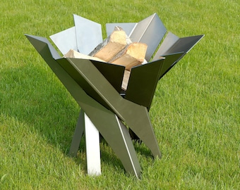 Steel Fire Pit PHOENIX FLOWER