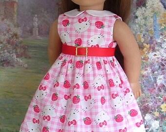 Kitty Summer Dress for American Girls