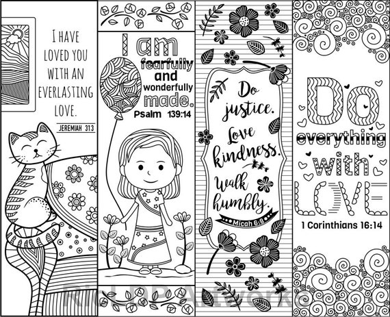 Clever image with regard to free printable bible bookmarks to color