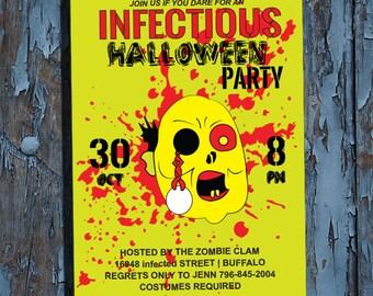 Zombie, Zombie invitation, Zombie party invitations,printable Zombie invitations,ZOMBIE, Zombie invitations,invitation ideas