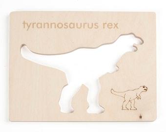 T-Rex Stencil, Drawing Toy, DIY Craft for kids, Dinosaur Toy