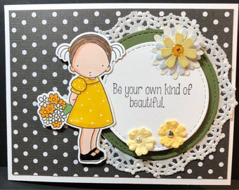 Friend Card, Friendship Card, Thinking of you, encouragement card