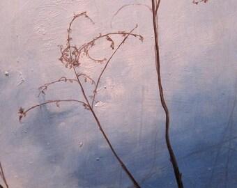 Landscape oil painting original - Once Faith