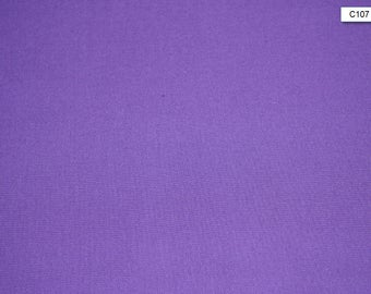 Purple Solid Cotton Fabric quilting sewing crafts low price cotton fabric free shipping available Cotton fabric by the yard  SHIPS FAST C107