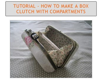 Tutorial - how to make a box clutch with two compartments