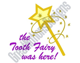 Tooth Fairy SVG - HTV - Vinyl Cutting Graphic Art