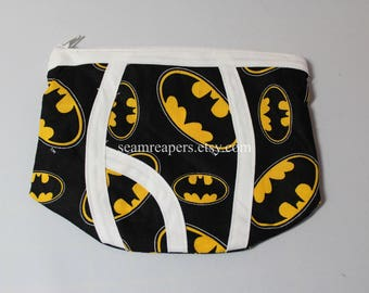 batman zipper underwear purse