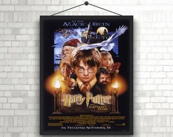 Harry Potter Movie Art Poster