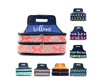 Casserole Carrier Personalized with Name or Monogram - Monogram Casserole Dish Carrier - Personalized Casserole Dish Gift - Gift for Her