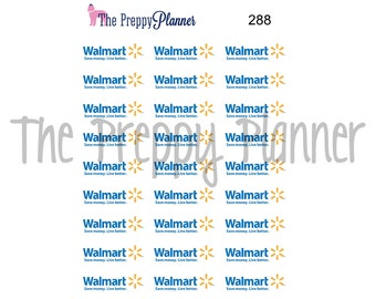 SHOPPING Planner Stickers for ALL  Planner Types #288