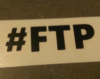FTP Vinyl Decal