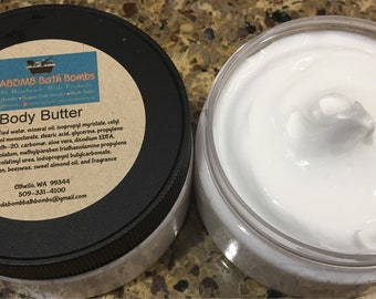Coconut Body Butter for Kids or Adults