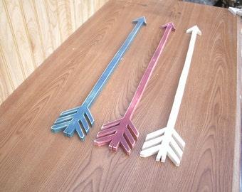 """handmade Wooden Arrow, wood arrow, Rustic wooden arrow,  Wooden arrow, 24"""" style #1 , Nursery decor, wooden arrow sign, Wooden arrow Decor"""