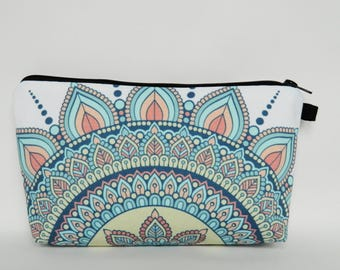 Make-Up Bag, Zipper Clutch, Zipper Pouch, Cosmetics Bag, Travel Bag, Ladies Gifts